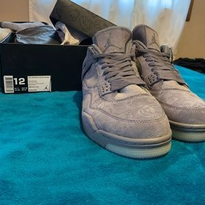 save off f9e09 a9022 Jordan Shoes - Air Jordan retro 4 Kaws size 12